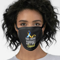 Down Syndrome Support Squad Awareness Special Educ Face Mask