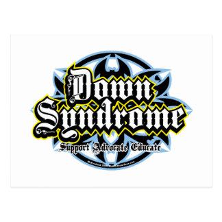 Down Syndrome Tribal Postcard