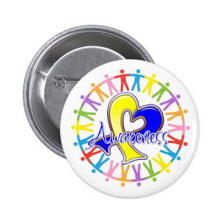 Down Syndrome Unite in Awareness Pin
