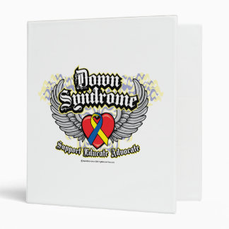Down Syndrome Wings Binder