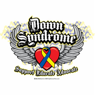 Down Syndrome Wings Cutout