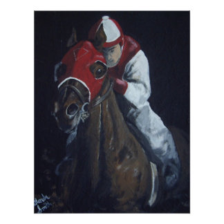 Down the Backstretch Poster