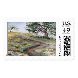 """""""Down the Beaten Path"""" Stamp"""