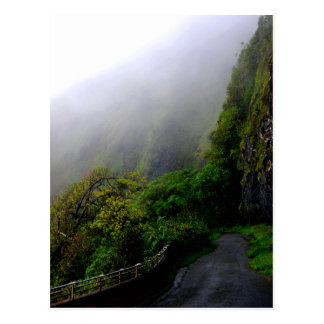 """Down the Beaten Path"" postcard"