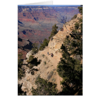 Down the Canyon Card