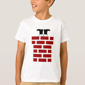 Down the Chimney - Kids T-shirt