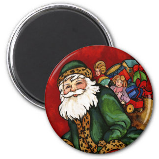 DOWN THE CHIMNEY 2 INCH ROUND MAGNET