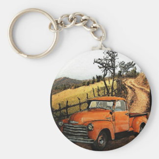 Down the Dirt Road Keychain