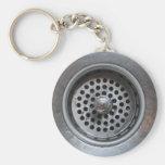 Down the Drain Keychain