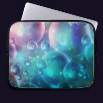 Down the Empyrean Stream Laptop Sleeve
