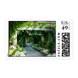 Down the Garden Path Postage Stamp