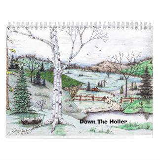 Down The Holler Calendar