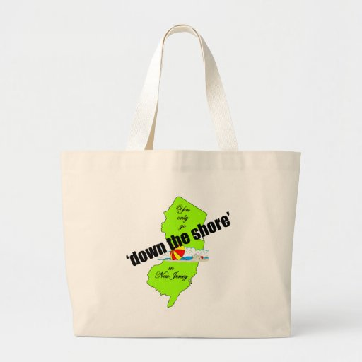 Down the Jersey Shore Beach Bag