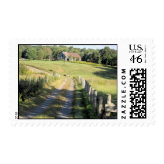 Down the Lane Postage Stamps