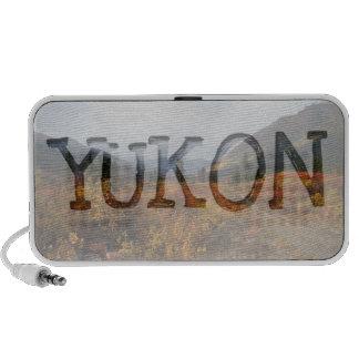 Down the Mountain; Yukon Territory Souvenir Travel Speakers