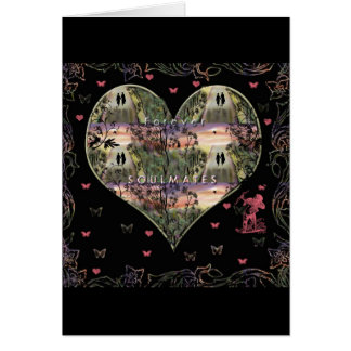 """""""Down The Paths Of Life We Walked""""* Greeting Card"""