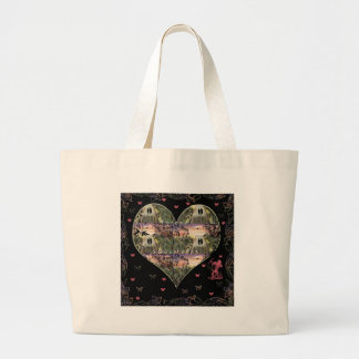 """""""Down The Paths Of Life We Walked""""* Large Tote Bag"""