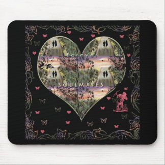 """""""Down The Paths Of Life We Walked""""* Mouse Pad"""