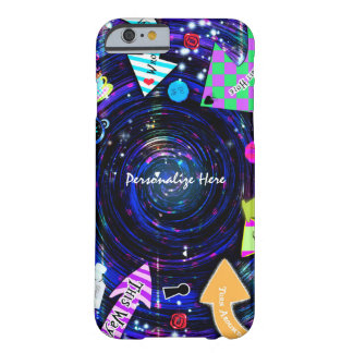 Down the Rabbit Hole Alice in Wonderland Swirl Barely There iPhone 6 Case