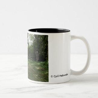 """""""Down the Rabbit Hole"""" mug by Cyril Helnwein"""