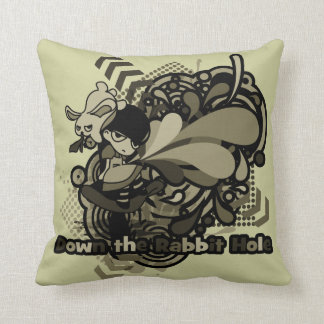 Down the Rabbit-Hole Pillows