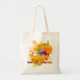 Down the Rabbit-Hole Tote Bag