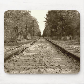 Down The Rails Mouse Pads