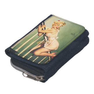 Down the Stairs - Retro Pin-up Girl Wallets