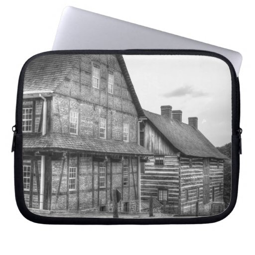 Down The Street In Old Salem Laptop Computer Sleeves