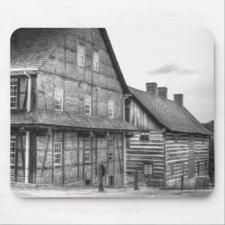 Down The Street In Old Salem Mouse Pad