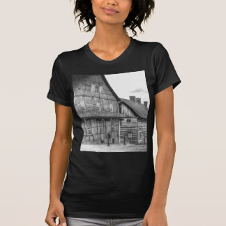 Down The Street In Old Salem Tshirts