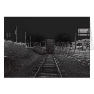Down The Tracks Card
