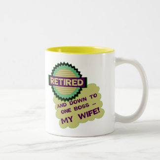 Down To One Boss Coffee Mug