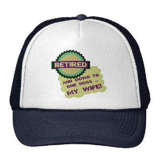Down To One Boss Trucker Hat