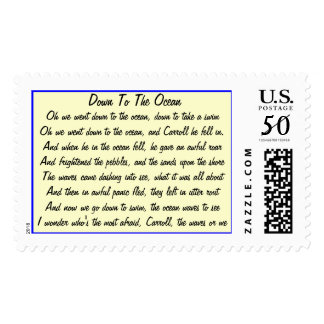 Down to the Ocean Postage