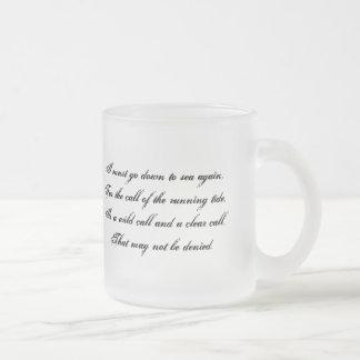 Down to the Sea Pirate Poetry Mug
