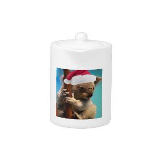 Down Under Christmas Koala Teapot