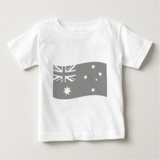 down under flag icon baby T-Shirt