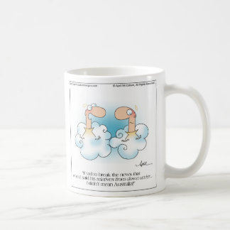 DOWN UNDER Mug by April McCallum