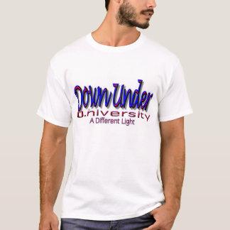"""Down Under U. (University) """"A Different Light"""" T-Shirt"""
