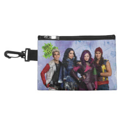 Clip On Accessory Bag with Descendants Down With Auradon! design