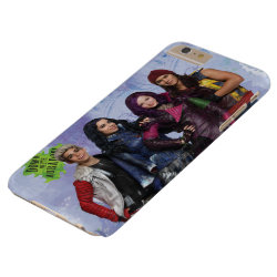 Case-Mate Barely There iPhone 6 Plus Case with Descendants Down With Auradon! design