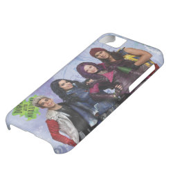Case-Mate Barely There iPhone 5C Case with Descendants Down With Auradon! design