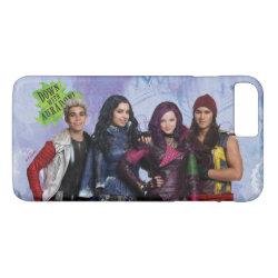 Case-Mate Tough iPhone 7 Plus Case with Descendants Down With Auradon! design