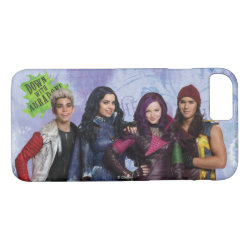 Case-Mate Barely There iPhone 7 Case with Descendants Down With Auradon! design