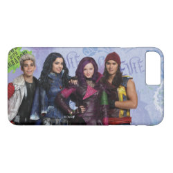 Case-Mate Tough iPhone 7 Plus Case with Descendants Down With Auradon! design