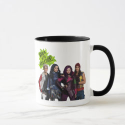 Combo Mug with Descendants Down With Auradon! design