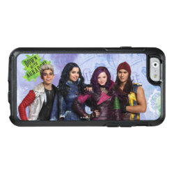 OtterBox Symmetry iPhone 6/6s Case with Descendants Down With Auradon! design