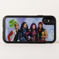 OtterBox Apple iPhone X Symmetry Case with Descendants Down With Auradon! design