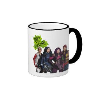 Down With Auradon Ringer Mug